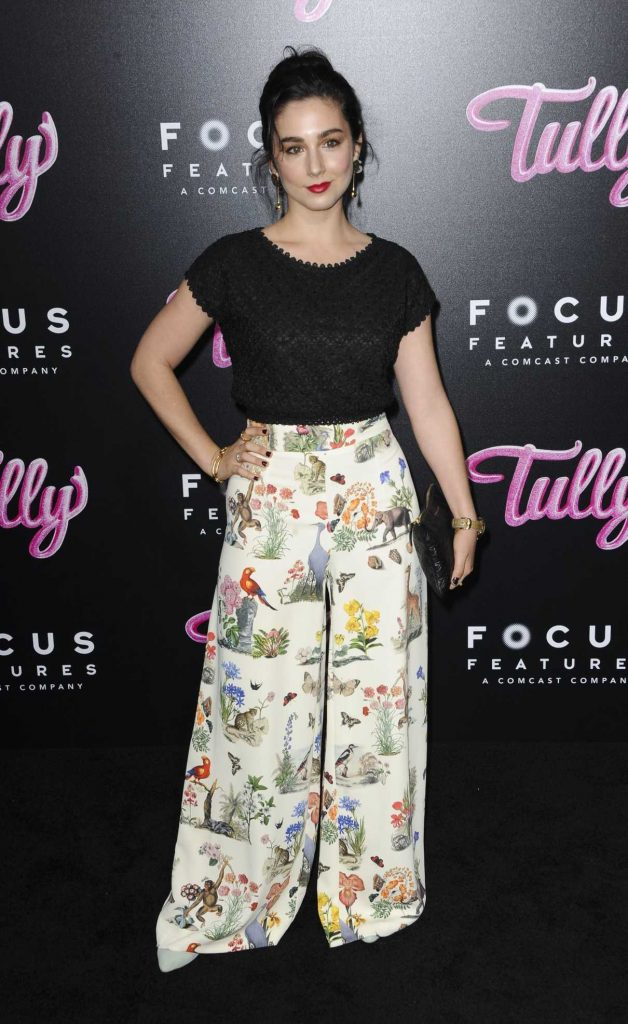 Molly Ephraim at Tully Premiere in Los Angeles 04/18/2018-1