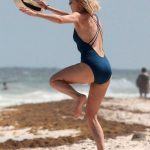 Naomi Watts on the Beach in Tulum, Mexico 04/05/2018-4