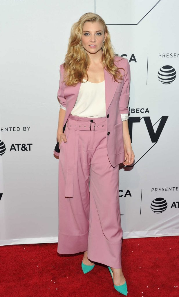 Natalie Dormer at the Picnic at Hanging Rock Premiere During the Tribeca Film Festival in New York City 04/28/2018-1