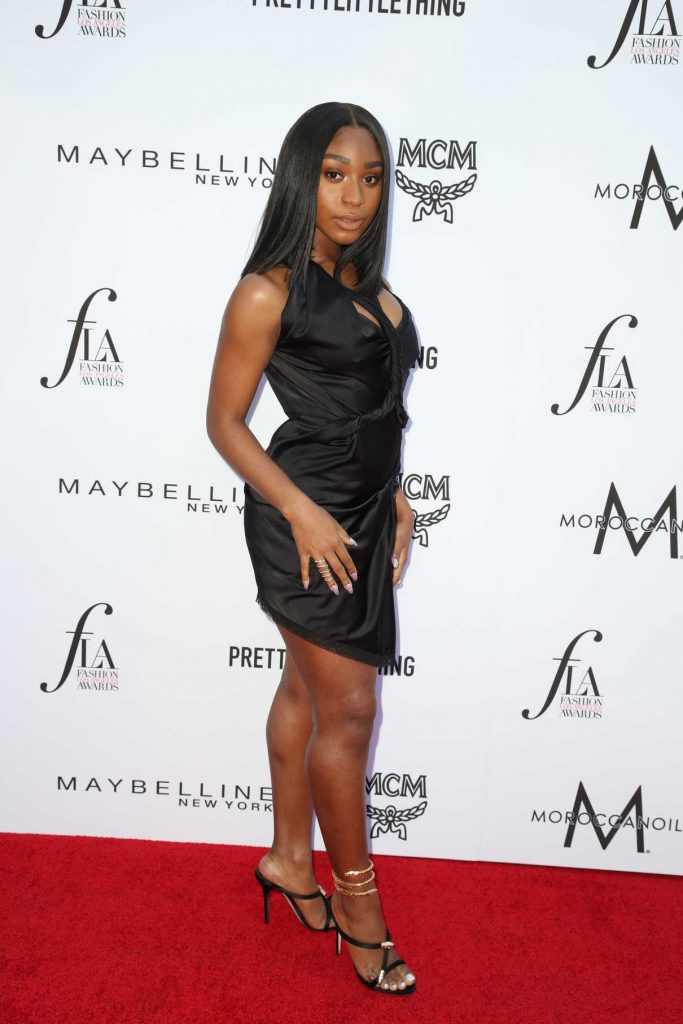 Normani Kordei at the Daily Front Row Fashion Awards in Los Angeles 04/08/2018-2
