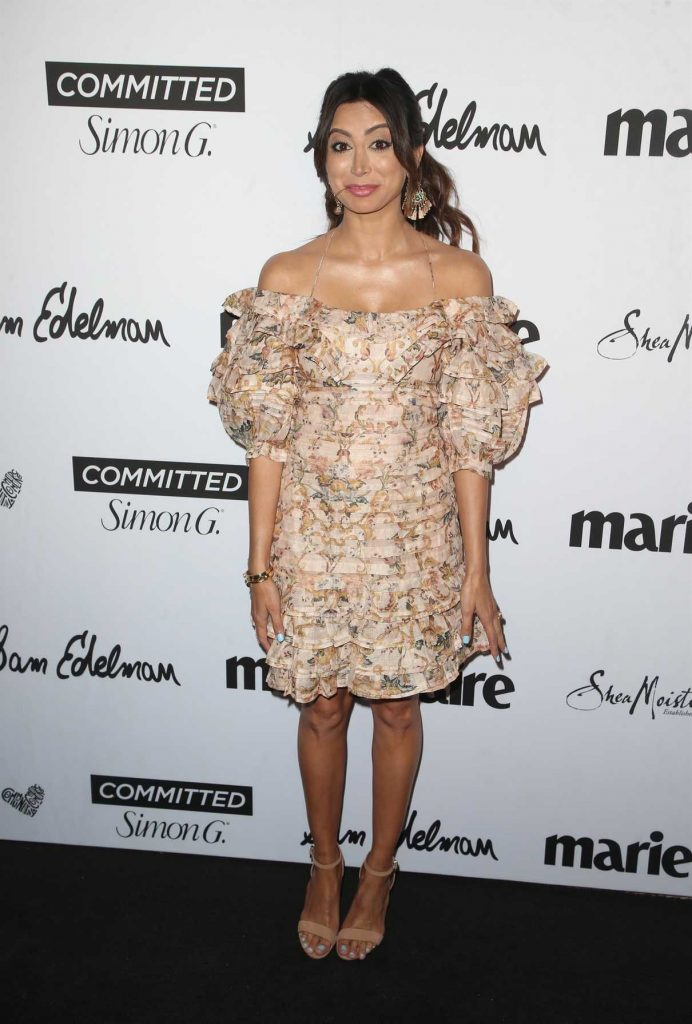 Noureen DeWulf at the 5th Annual Marie Claire Fresh Faces Party in Los Angeles 04/27/2018-1