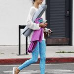 Alessandra Ambrosio Leaves Her Yoga Morning Workout in Santa Monica 04/30/2018-4
