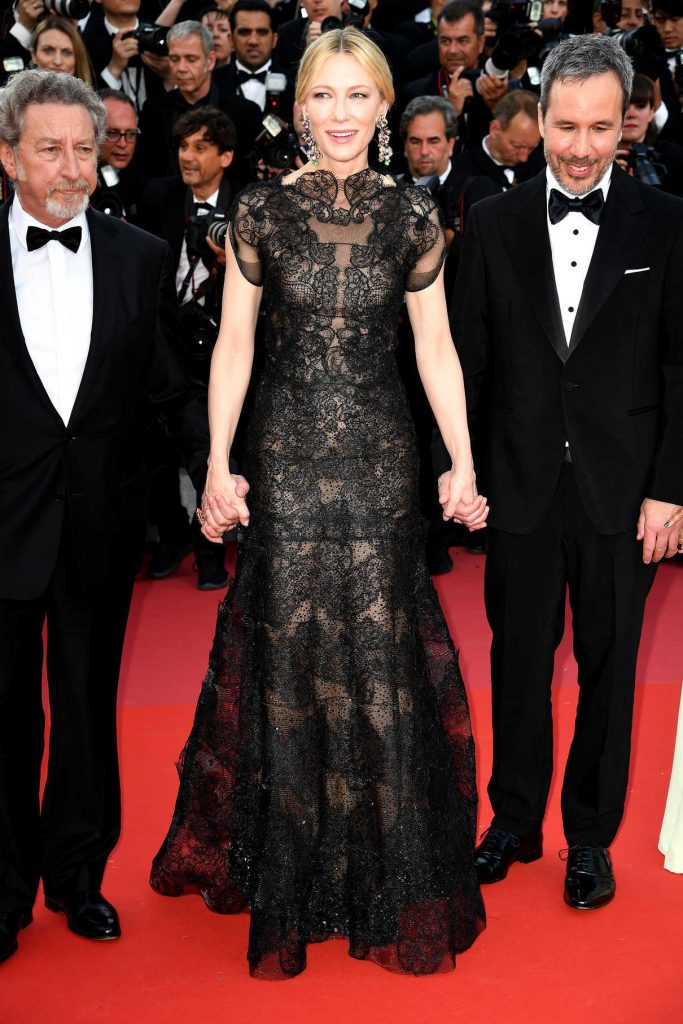 Cate Blanchett at Everybody Knows Premiere During the 71st Cannes Film Festival 05/08/2018-1