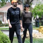 Elizabeth Olsen Leaves a Gym Session with Boyfriend Robbie Arnett in Los Angeles 05/03/2018-3