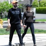 Elizabeth Olsen Leaves a Gym Session with Boyfriend Robbie Arnett in Los Angeles 05/03/2018-5