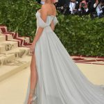 Hailey Baldwin at the Heavenly Bodies: Fashion and The Catholic Imagination Costume Institute Gala in New York City 05/07/2018-3