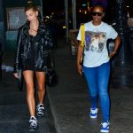 Hailey Baldwin Was Spotted out with Justine Skye in Soho, New York City 05/03/2018-3