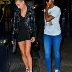 Hailey Baldwin Was Spotted out with Justine Skye in Soho, New York City 05/03/2018-5