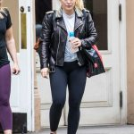Hilary Duff Leaves the Gym in NYC 05/18/2018-4