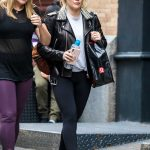 Hilary Duff Leaves the Gym in NYC 05/18/2018-5