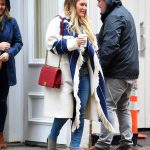 Hilary Duff Was Spotted on a Rainy Day in NYC 05/19/2018-2