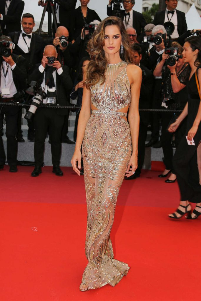 Izabel Goulart at the Burning Premiere During the 71st Cannes Film Festival in Cannes 05/16/2018-1