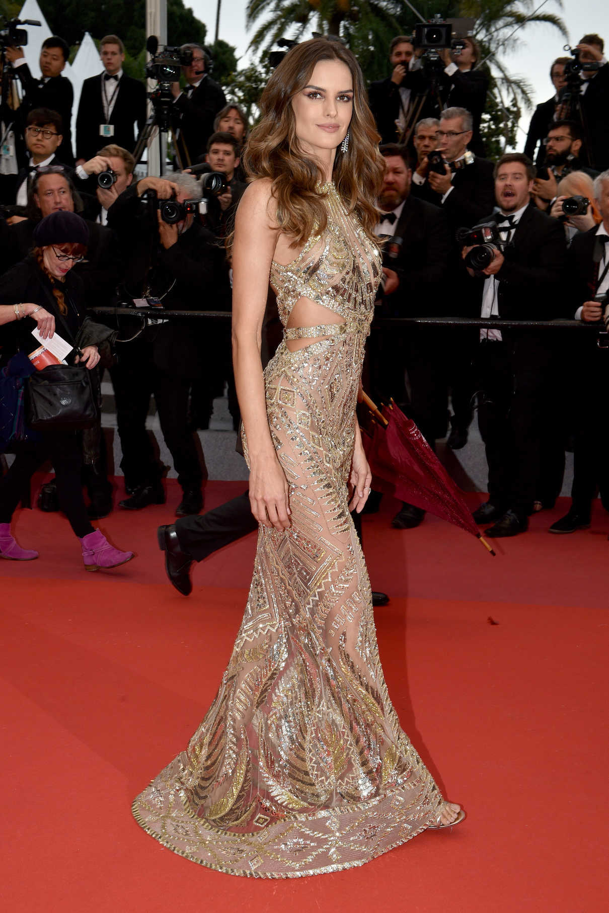 Izabel Goulart at the Burning Premiere During the 71st Cannes Film Festival in Cannes 05/16/2018-2