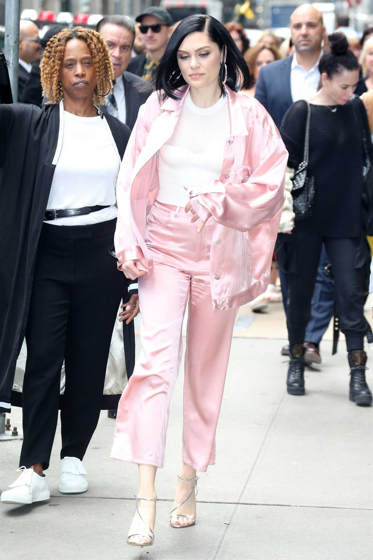 Jessie J Arrives at Good Morning America in New York 05/29/2018-1