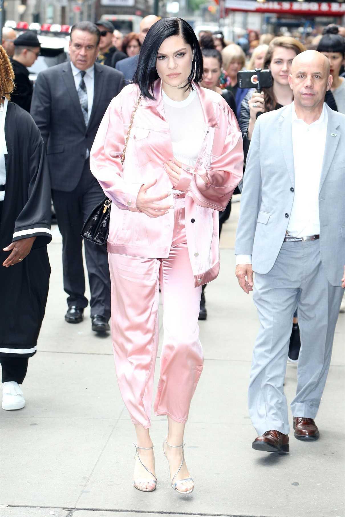Jessie J Arrives at Good Morning America in New York 05/29/2018-2