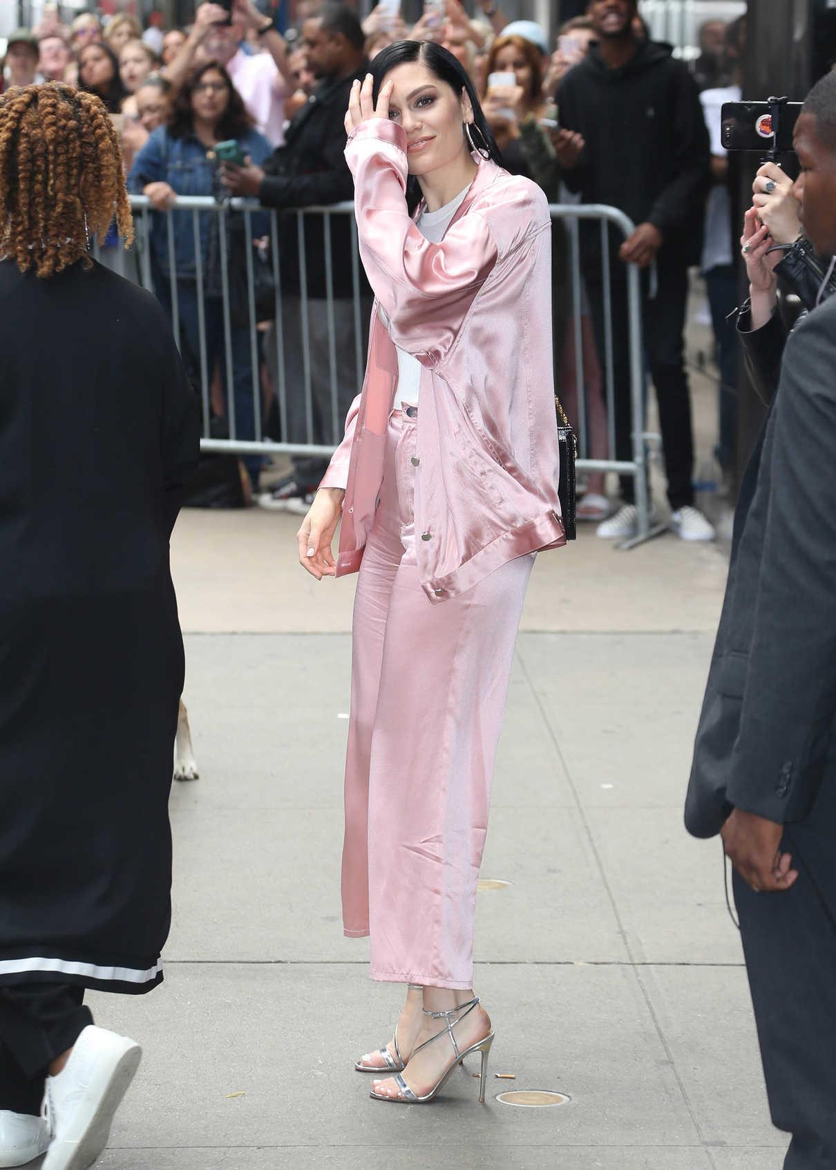 Jessie J Arrives at Good Morning America in New York 05/29/2018-3