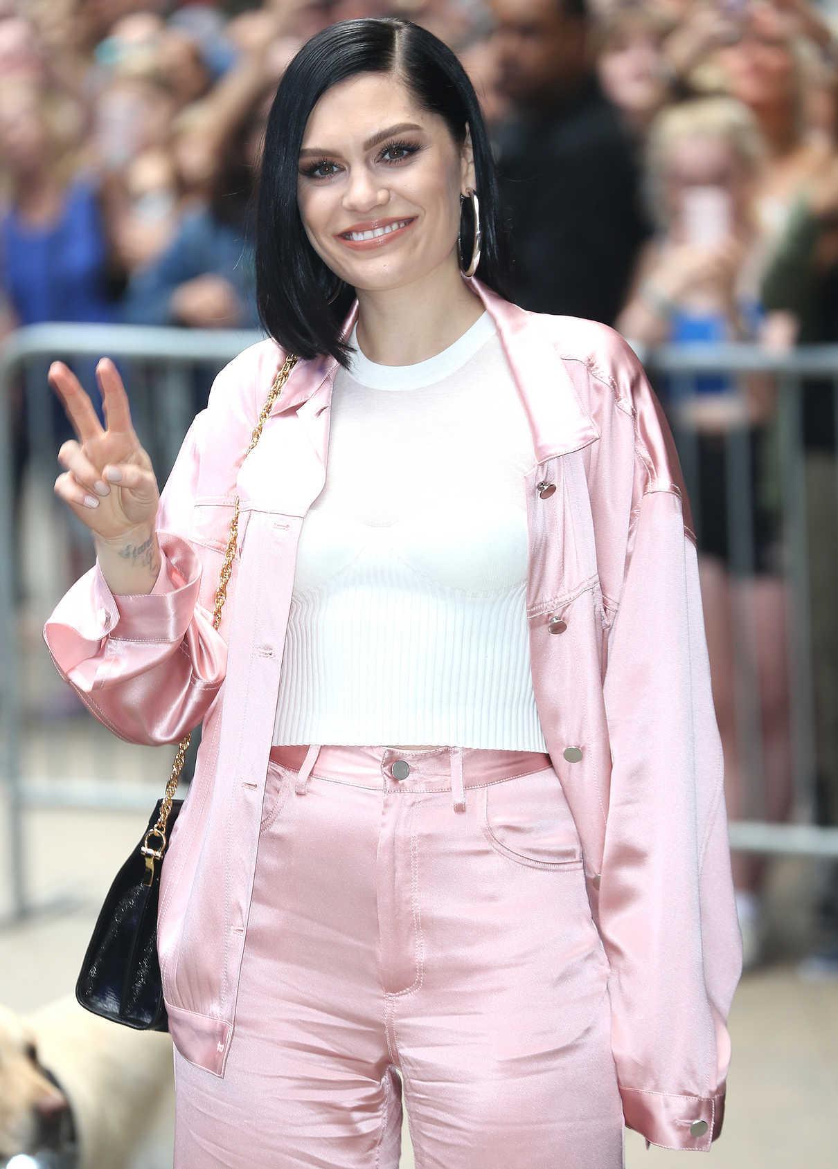 Jessie J Arrives at Good Morning America in New York 05/29/2018-5