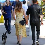Kate Mara Walks Her Dog Lucius in New York City 05/15/2018-5
