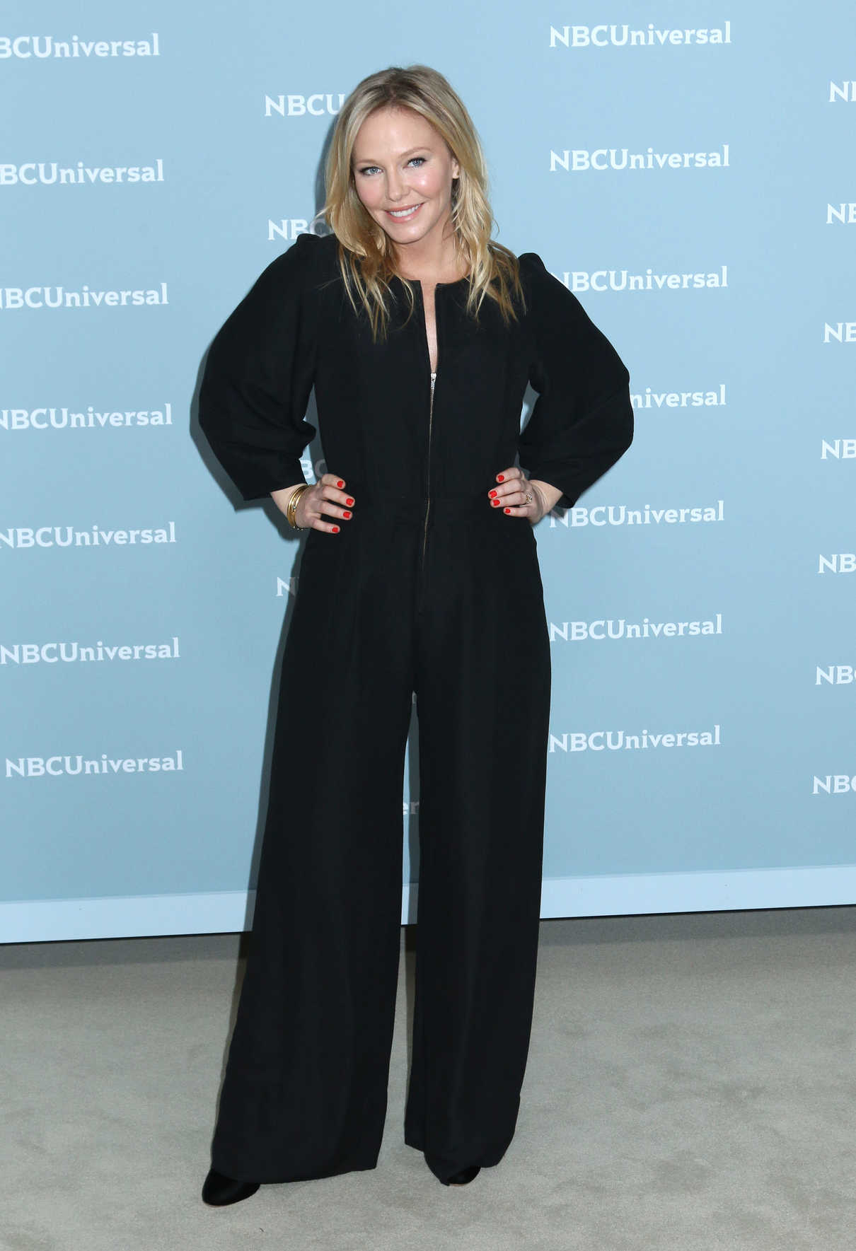 Kelli Giddish at NBCUniversal Upfront Presentation in New York City 05/14/2018-1
