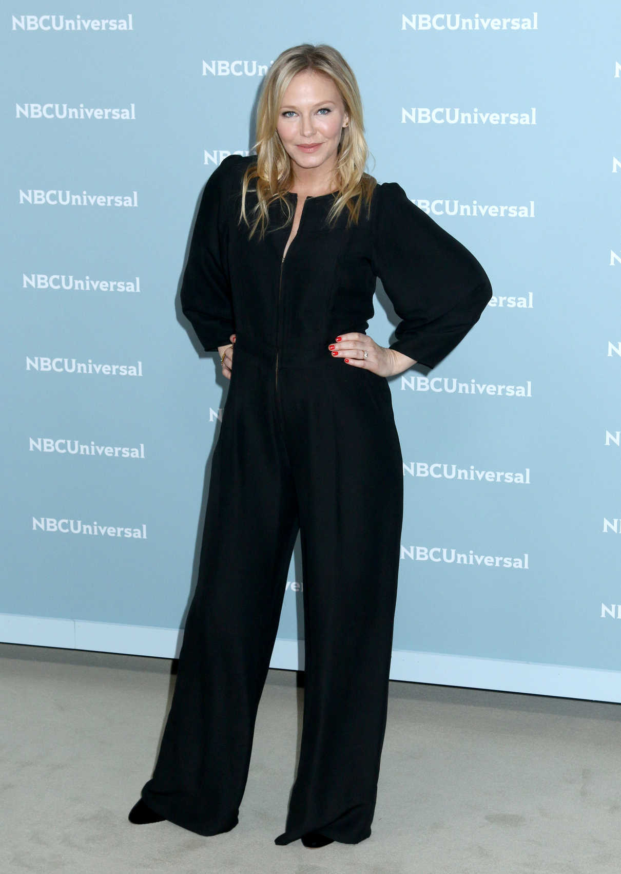 Kelli Giddish at NBCUniversal Upfront Presentation in New York City 05/14/2018-2