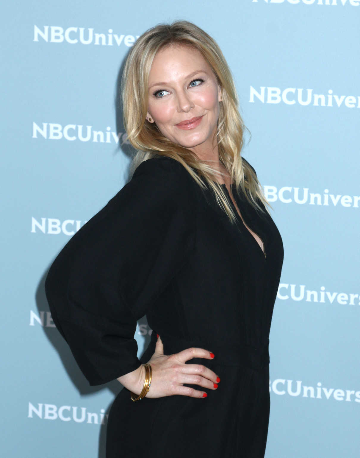 Kelli Giddish at NBCUniversal Upfront Presentation in New York City 05/14/2018-4