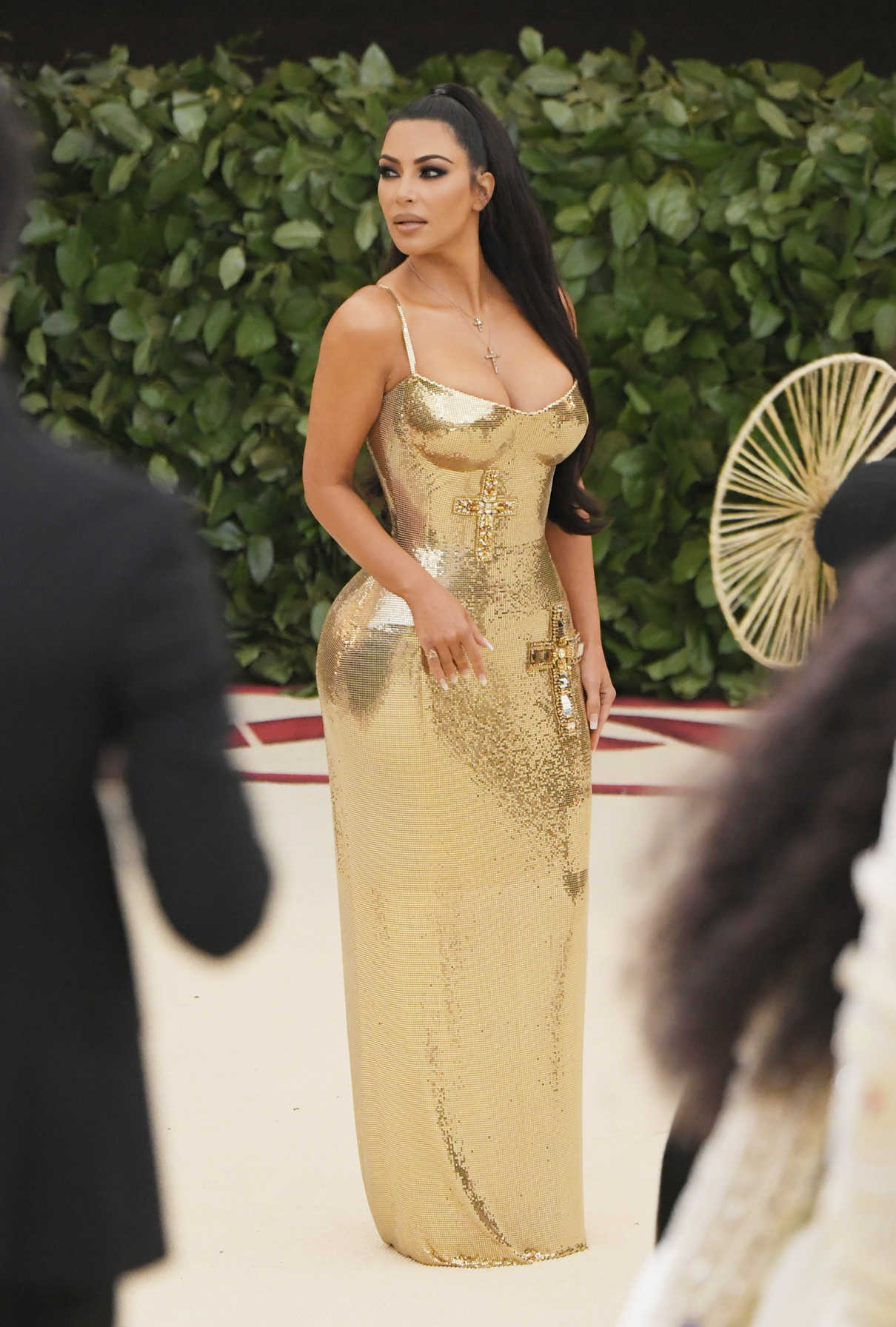Kim Kardashian at the Heavenly Bodies: Fashion and The Catholic Imagination Costume Institute Gala in New York City 05/07/2018-2
