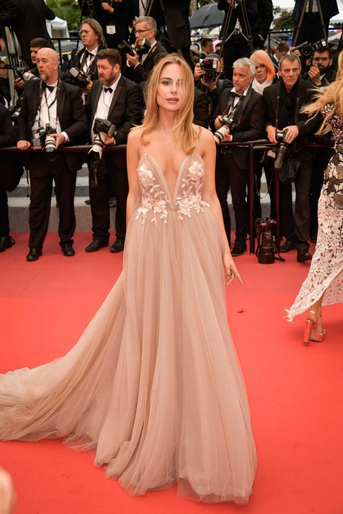 Kimberley Garner at the Burning Premiere During the 71st Cannes Film Festival in Cannes 05/16/2018-1