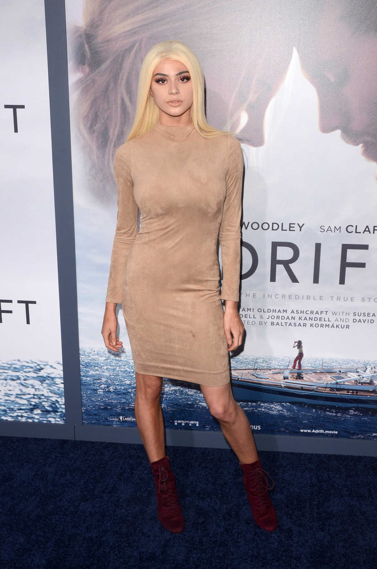 Kristen Hancher at Adrift Premiere at Regal LA Live Stadium 14 in Los Angeles 05/23/2018-1