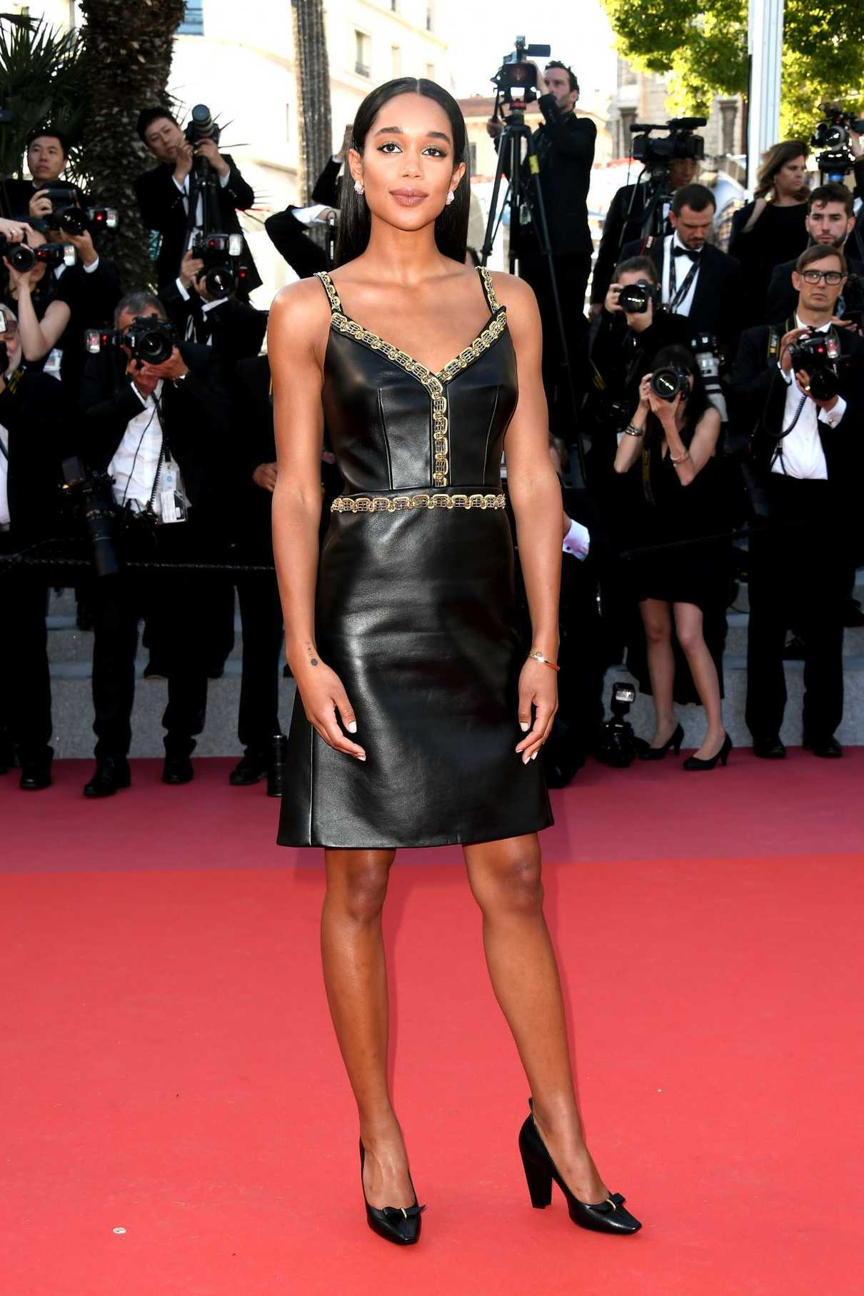 Laura Harrier at Closing Ceremony of the 71st Annual Cannes Film Festival in Cannes 05/19/2018-1
