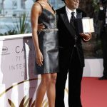 Laura Harrier at Closing Ceremony of the 71st Annual Cannes Film Festival in Cannes 05/19/2018-3