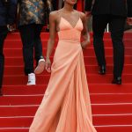 Laura Harrier at the Blackkklansman Premiere During the 71st Cannes Film Festival in Cannes 05/14/2018-3