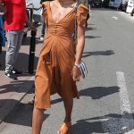 Laura Harrier Leaves the Martinez Hotel in Cannes 05/12/2018-3