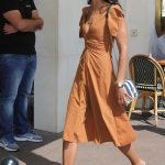 Laura Harrier Leaves the Martinez Hotel in Cannes 05/12/2018-4