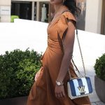 Laura Harrier Leaves the Martinez Hotel in Cannes 05/12/2018-5