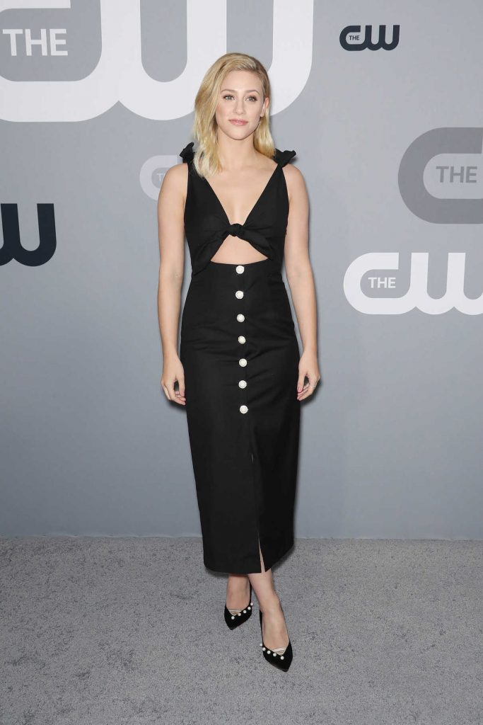 Lili Reinhart at CW Network Upfront Presentation in New York City 05/17/2018-1