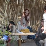 Lindsay Lohan Was Seen with Friends at a Beach Bar in Mykonos 05/26/2018-2