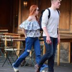 Lindsay Lohan Was Spotted with Mystery Man in West Village in New York City 05/03/2018-3