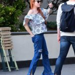 Lindsay Lohan Was Spotted with Mystery Man in West Village in New York City 05/03/2018-4