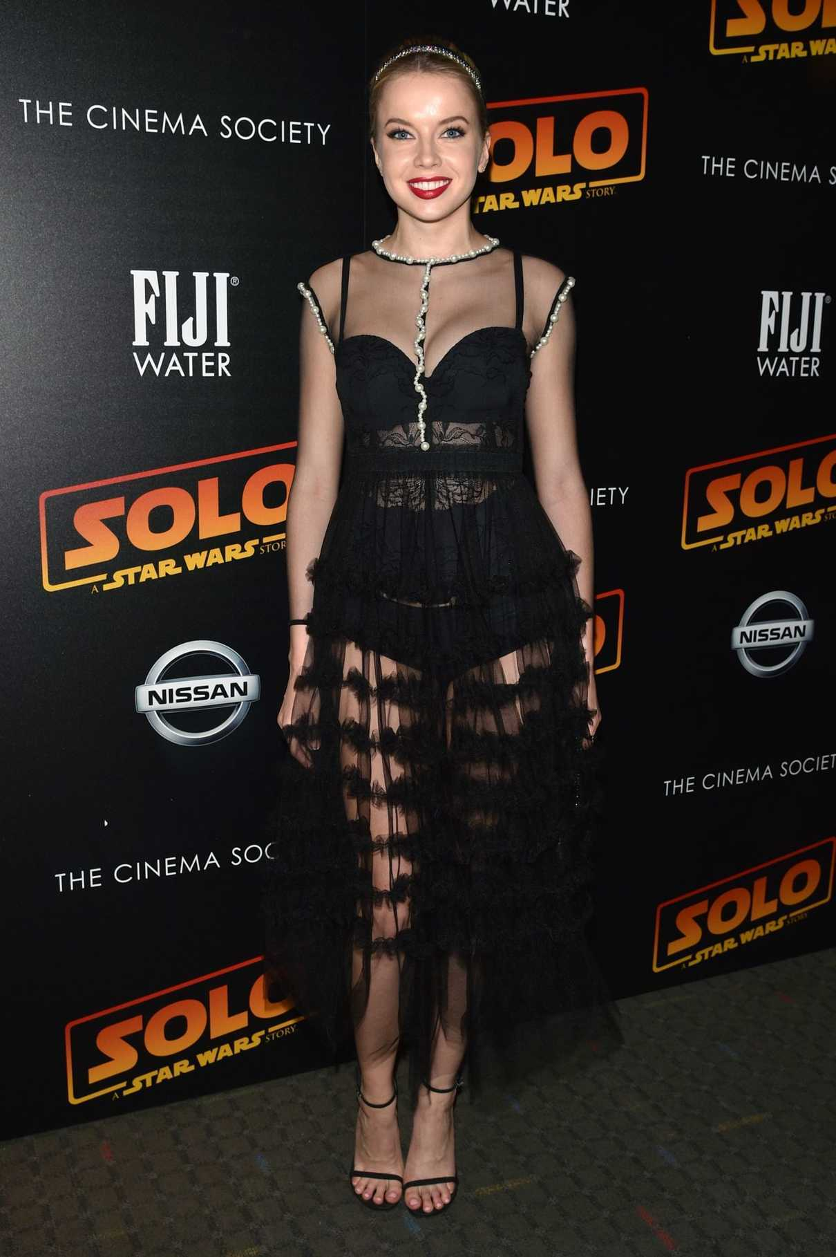 Louisa Warwick at the Solo: A Star Wars Story Premiere in New York 05/21/2018-1