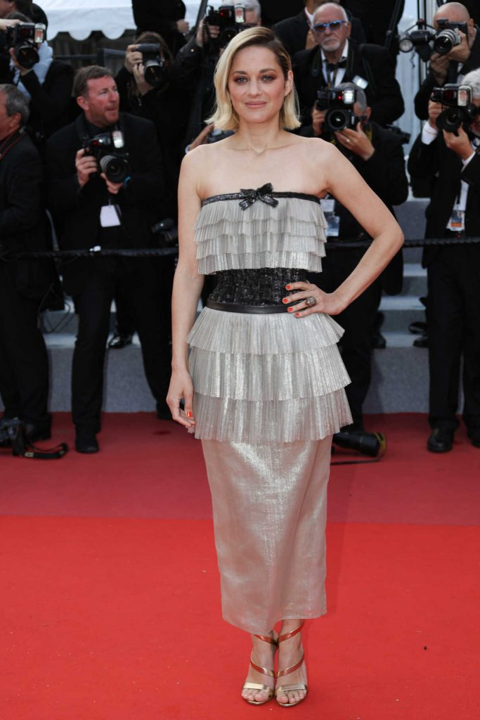 Marion Cotillard at the Sink or Swim Screening During the 71st Cannes Film Festival in Cannes 05/13/2018-1