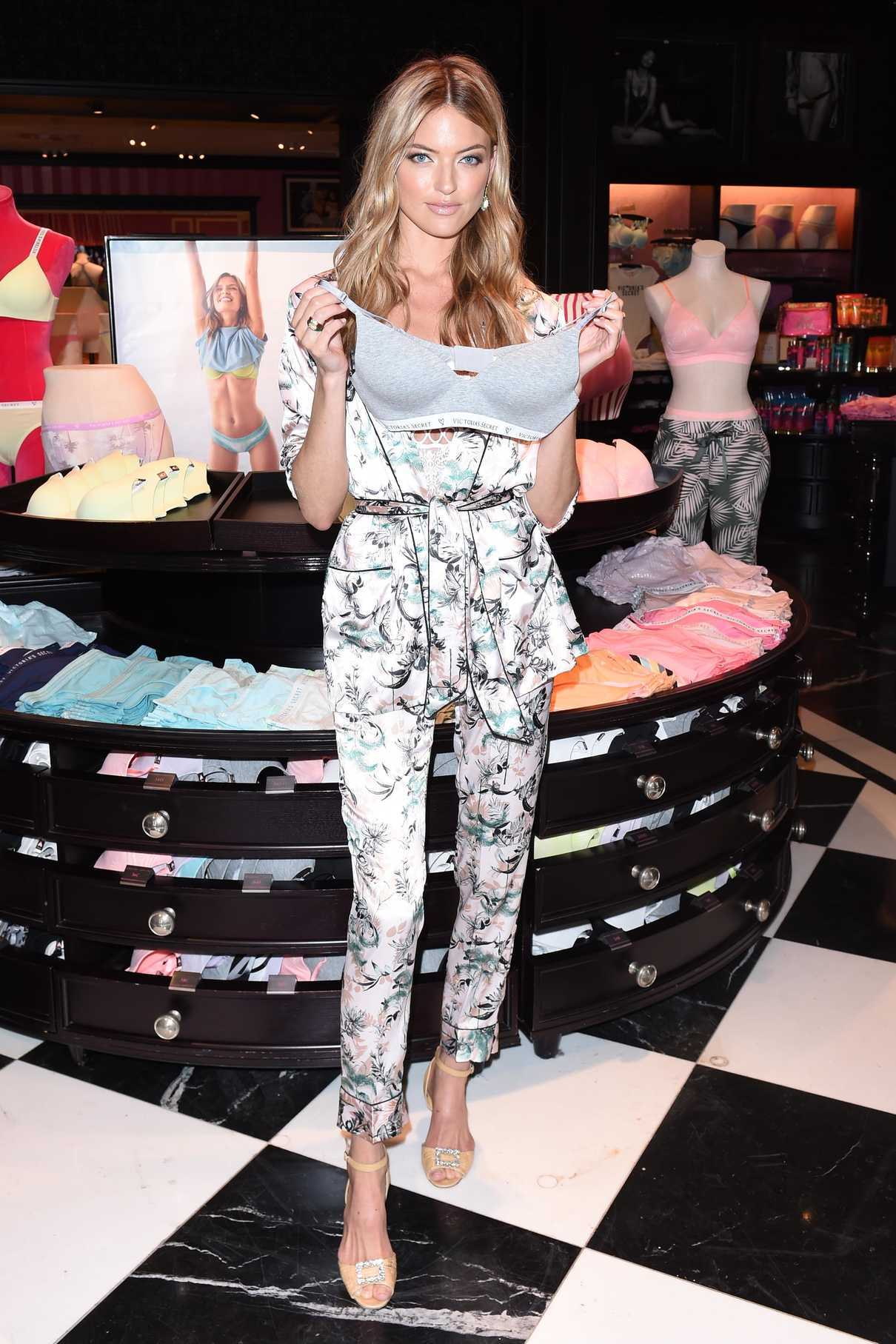 Martha Hunt at the Victoria's Secret New T Shirt Bra Collection Summer Kick off Event in Los Angeles 05/24/2018-1