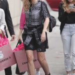 Miley Cyrus Arrives Jimmy Kimmel Studios in Hollywood 05/01/2018-5