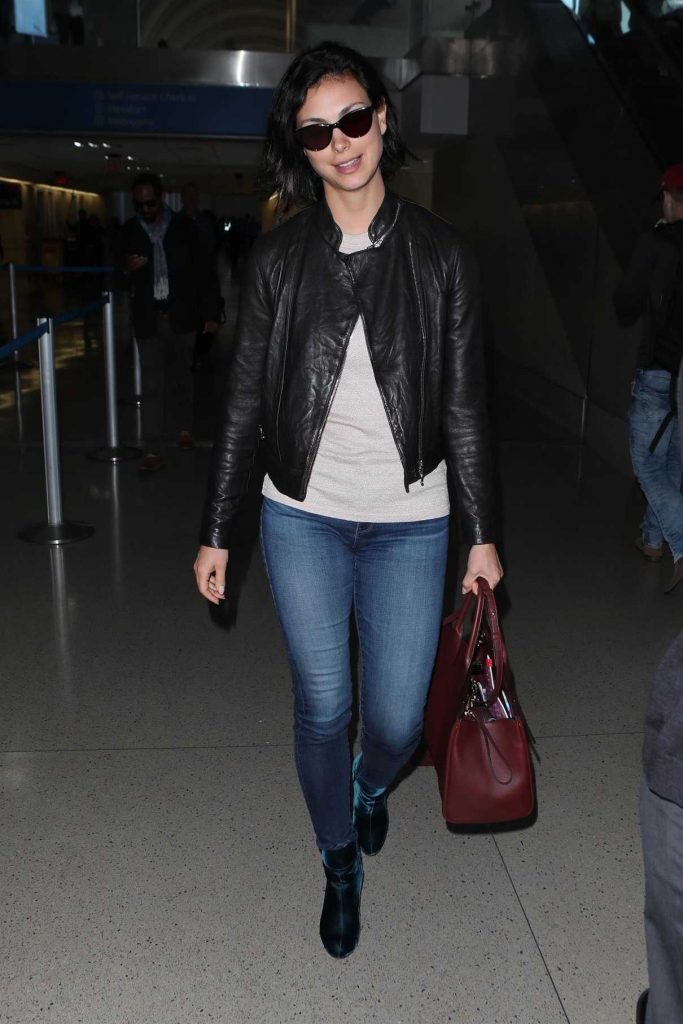 Morena Baccarin Was Seen at LAX Airport in Los Angeles 05/17/2018-1
