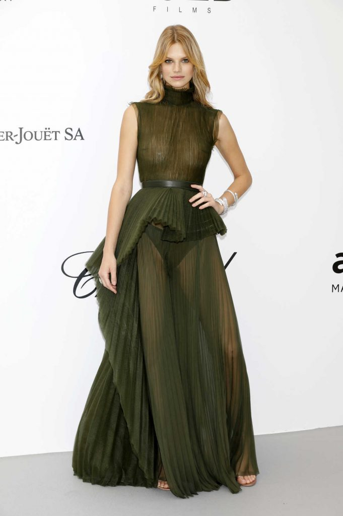 Nadine Leopold at amfAR's 25th Cinema Against AIDS Gala During the 71st Cannes Film Festival in Cannes 05/17/2018-1