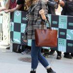 Natalie Dormer Visits AOL Build Studios in New York City 05/21/2018-2