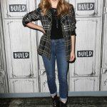 Natalie Dormer Visits AOL Build Studios in New York City 05/21/2018-4