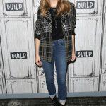 Natalie Dormer Visits AOL Build Studios in New York City 05/21/2018-5