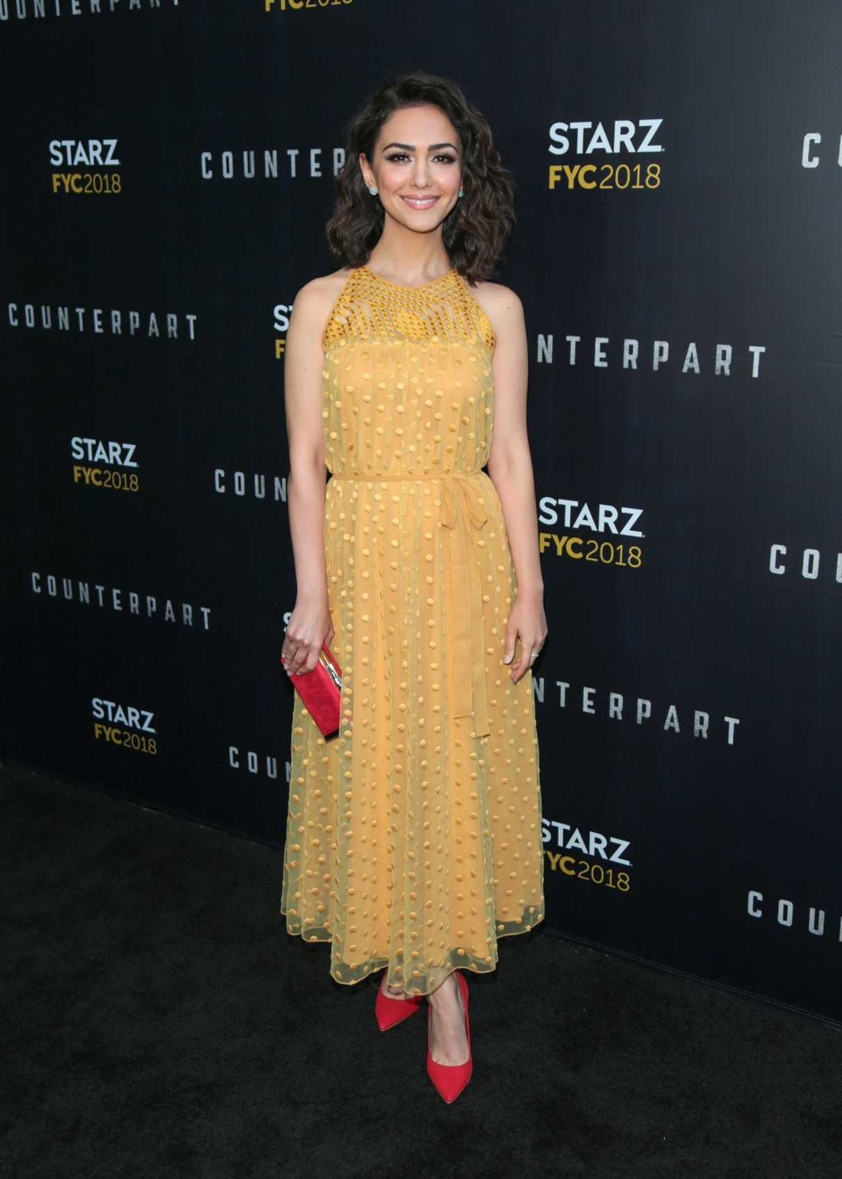 Nazanin Boniadi at the Counterpart and Howards End FYC Event in Los Angeles 05/23/2018-1