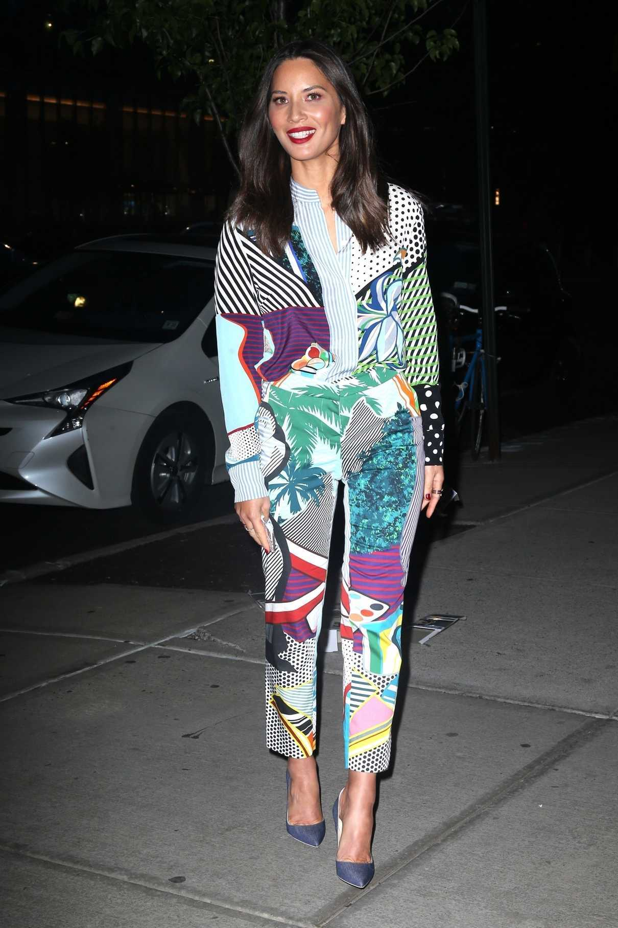 Olivia Munn Night Out in New York City 05/21/2018-1