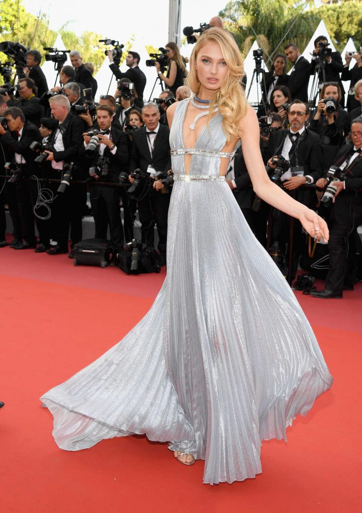 Romee Strijd at Everybody Knows Premiere During the 71st Cannes Film Festival 05/08/2018-1
